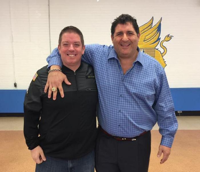 Michael Reilly and Tony Siragusa