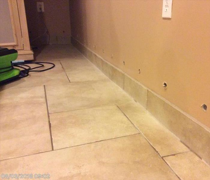 Interior Walls Affected by Water Damage
