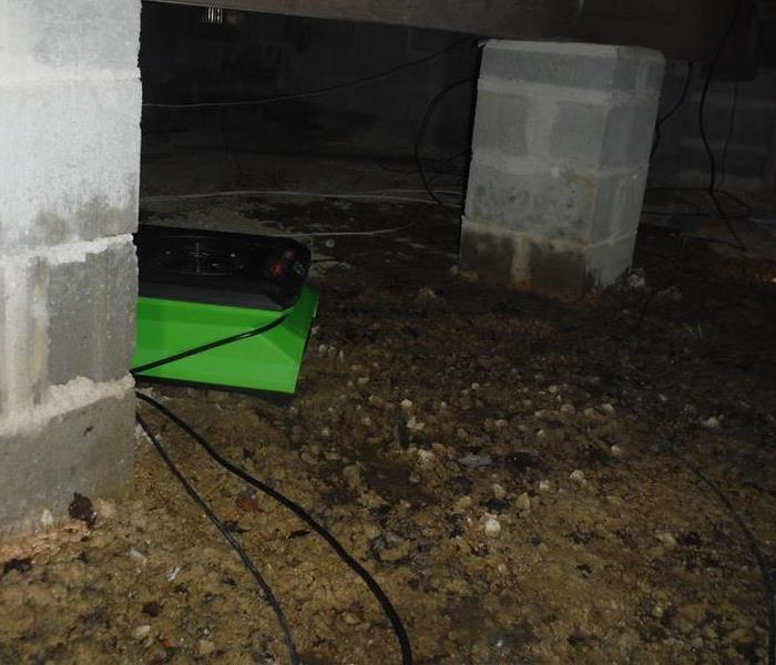 Sewer Damage inside Crawl Space Whiting, NJ