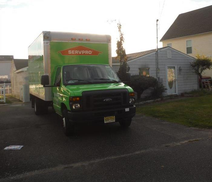 Why SERVPRO Call the Cleanup Team that is Faster to Any Size Disaster
