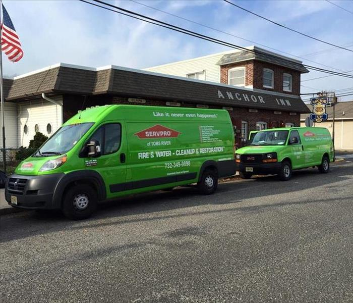 Why SERVPRO Why Choose SERVPRO of Toms River for Your Business Emergency?