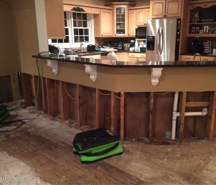Water Damage 4 Steps SERVPRO of Toms River Does Following a Water Loss